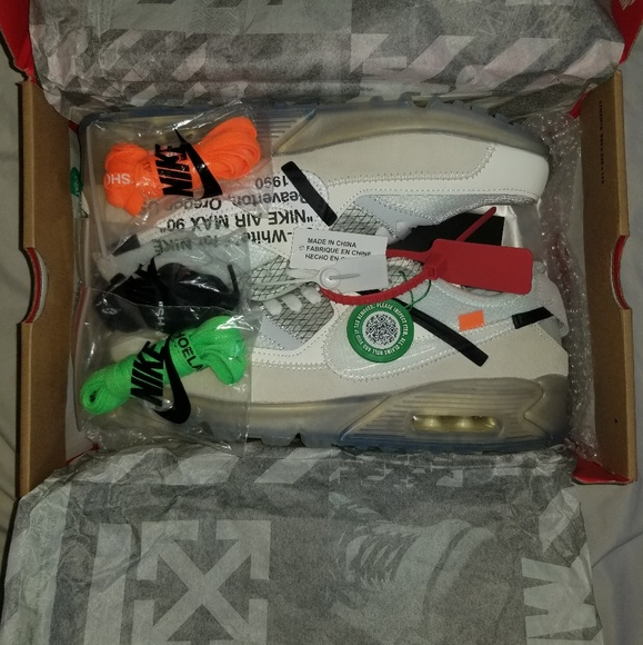 9891064c nike×offwhite Shoes | Off White Nike Air Max 90 Size 105 Stockx ...